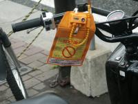 Motorbike ticket